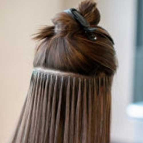 Vlasy na Keratín