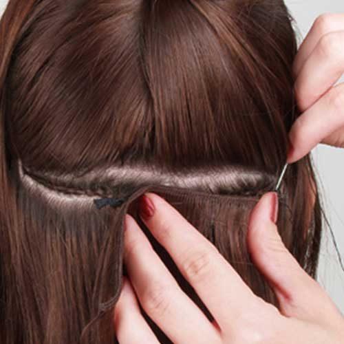 Weft predlžovanie vlasov