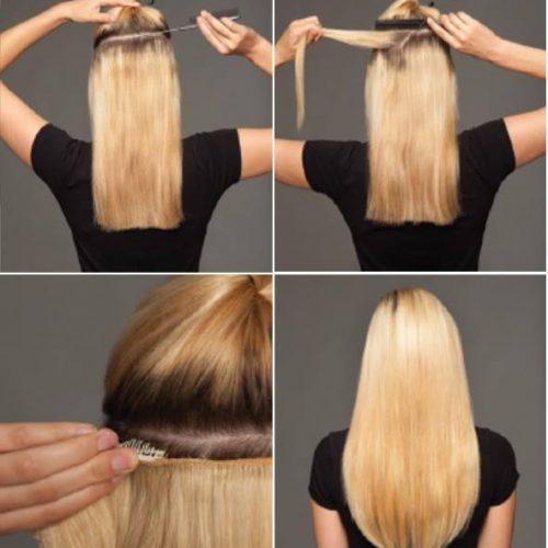 KOKO – rovný Thermofibre™ Clip in vlasy