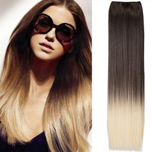 Clip in OMBRE rovné predlžovanie vlasov