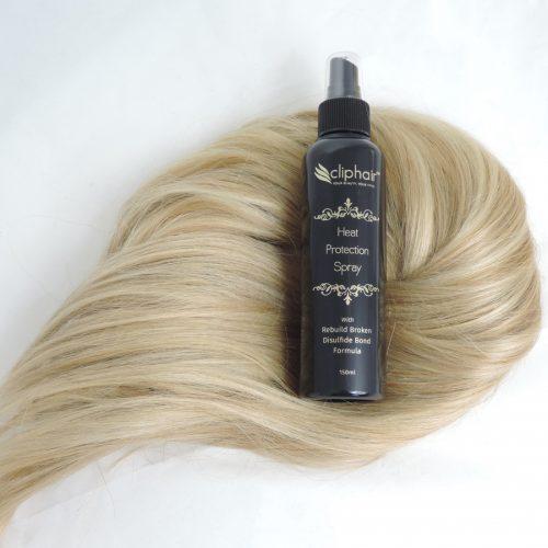 Ochranný sprej na tepelné ošetrenie vlasov