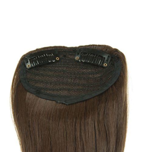 Bočné ofiny výrobené od syntetických vlasov