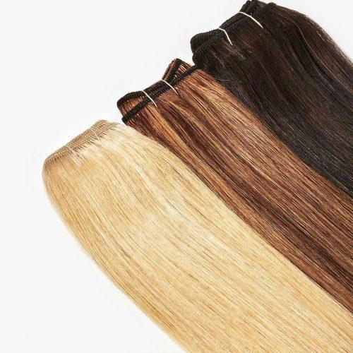 Ľudské vlasy Weft